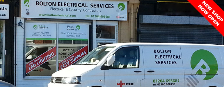 Bolton Electrical Shop Now Open